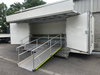 2019 AA CAR UNKNOWN AA CAR UNKNOWN BROWNS COACHWORKS LTD TRIAXLE MOBILE EXHIBITION TRAILER £8999.00
