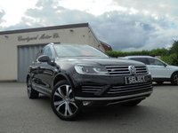 USED 2016 16 VOLKSWAGEN TOUAREG 3.0 V6 R-LINE TDI BLUEMOTION TECHNOLOGY 5d AUTO 259 BHP