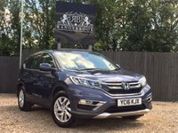 USED 2016 16 HONDA CR-V 1.6 I-DTEC SE NAVI 5dr Sat Nav, Lane Assist, £30 Tax