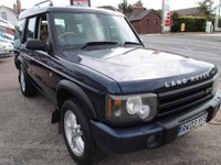 2003 LAND ROVER DISCOVERY 2.5 TD5 ES 5d AUTO 136 BHP £5495.00