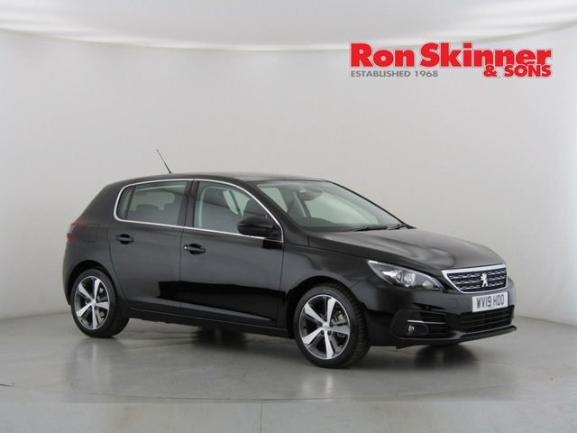 View our 2019 19 PEUGEOT 308 1.2 PURETECH S/S ALLURE 5d 129 BHP