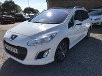USED 2013 63 PEUGEOT 308 1.6 e-HDi Active (s/s) 5dr (Nav)