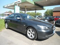 USED 2008 58 BMW 5 SERIES 3.0 525D SE 4d AUTO 195 BHP 7 SERVICE STAMPS