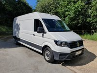 2018 VOLKSWAGEN CRAFTER 2.0L CR35 TDI LWB HR 5d 140 BHP CRUISE CONTROL EURO 6 AD BLUE  £SOLD