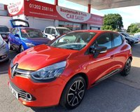 2014 RENAULT CLIO 1.1 DYNAMIQUE MEDIANAV 5d 75 BHP 1 OWNER, ONLY 27,000 MILES £5995.00