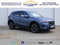 USED 2015 15 MAZDA CX-5 2.2 D SPORT NAV 5d AUTO 173 BHP One Owner Full Mazda History Buy Now, Pay Later Finance!