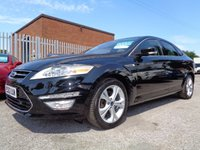 USED 2010 60 FORD MONDEO 2.0 TITANIUM X TDCI 5d AUTO 161 BHP DIESEL AUTOMATIC