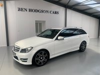 USED 2013 63 MERCEDES-BENZ C CLASS 2.1 C220 CDI BLUEEFFICIENCY AMG SPORT PLUS 5d AUTO 168 BHP 1 Previous owner! ONly 53000 Miles!