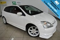 USED 2003 03 HONDA CIVIC 2.0 TYPE-R 3d 200 BHP JDM CHAMPIONSHIP WHITE