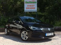 USED 2017 17 VAUXHALL ASTRA 1.4 TECH LINE 5dr 1 Owner, Cruise, FSH