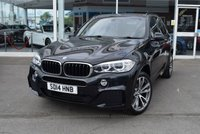 USED 2014 14 BMW X5 3.0 XDRIVE30D M SPORT 5d AUTO 255 BHP FINANCE TODAY WITH NO DEPOSIT