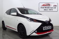 USED 2017 66 TOYOTA AYGO 1.0 VVT-I X-PRESS 5d 69 BHP Fantastic Toyota Aygo at a great price. Extremely reliability and solid build quality are the norm with Toyotas and the Aygo is no exception. It wont hang around long so get on that 'phone before its gone. 12 months MOT, and Fully serviced upon sale, Full service history, Excellent bodywork, Black Cloth interior - Excellent Condition, Tyre condition Excellent, Solid White with Red. We offer ZERO deposit finance at competitive rates and we welcome your part exchange. To arrange a viewing or test