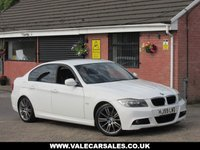 USED 2009 59 BMW 3 SERIES 318D M SPORT (UPGRADED M SPORT ALLOYS) 4dr UPGRADED BMW M SPORT ALLOY WHEELS