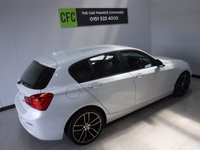 USED 2016 16 BMW 1 SERIES 2.0 118D SE 5d 147 BHP ****ONE OWNER **** FULL BMW SERVICE HISTORY****LEATHER**** SAT NAV***