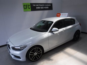 2016 BMW 1 SERIES 2.0 118D SE 5d 147 BHP £10500.00