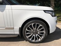 USED 2014 64 LAND ROVER RANGE ROVER 4.4 SDV8 VOGUE SE 5d AUTO 339 BHP An Excellent Example with a Powerful 4.4 Litre Turbo Diesel V8 Luxuriously Appointed Throughout. Presented in Fuji White with Full Black Leather Interior, ll Colour Code 22 Inch Style 7 Alloy Wheels and an Electric Sliding Panoramic Glass Sunroof with Power Blind. Features Include; Heated / Chilled Electrically Adjustable Seats with Memory Function, 8 inch Touch-Screen with Digital TV, HDD Hard Disk Navigation System, DAB Digital Radio, Front and Rear Park Distance Sensors with 360