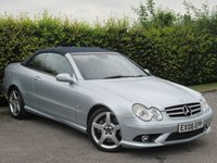 USED 2006 06 MERCEDES-BENZ CLK 3.5 CLK350 SPORT 2d AUTOMATIC * FULL HEATED LEATHER INTERIOR * ELECTRIC ROOF * PARKING SENSORS *