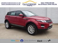 USED 2015 15 LAND ROVER RANGE ROVER EVOQUE 2.2 SD4 PURE TECH 5d 190 BHP One Owner Full Dealer History Buy Now, Pay Later Finance!