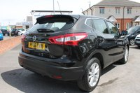 USED 2016 16 NISSAN QASHQAI 1.2 ACENTA DIG-T SMART VISION 5d 113 BHP JUST ONE OWNER FROM NEW - EXCELLENT SERVICE HISTORY - MEGA LOW MILES - GREAT SPEC
