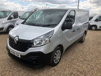 USED 2016 66 RENAULT TRAFIC 1.6 SL29 BUSINESS DCI 1d 120 BHP * EURO 6 * ONE OWNER FROM NEW * TOUCH SCREEN SAT/NAV