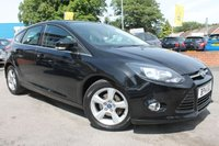 USED 2014 14 FORD FOCUS 1.6 ZETEC NAVIGATOR TDCI 5d 113 BHP ONLY 2 OWNERS FROM NEW - EXCELLENT SERVICE HISTORY - HUGE MPG - CHEAP ROAD TAX - GREAT ALL ROUNDER