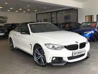 USED 2014 14 BMW 4 SERIES 3.0 435D XDRIVE M SPORT 2d AUTO 309 BHP M PERFORMANCE STYLING+H-KARDON