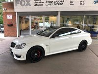 2012 MERCEDES-BENZ C CLASS 6.2 C63 AMG EDITION 125 2d 457 BHP 2 DOOR COUPE £21750.00