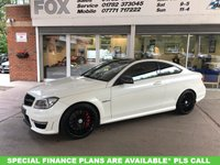 USED 2012 12 MERCEDES-BENZ C CLASS 6.2 C63 AMG EDITION 125 2d 457 BHP 2 DOOR COUPE MERCEDES C63 AMG 125 EDITION COUPE