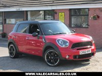 USED 2012 62 MINI COUNTRYMAN 2.0 COOPER SD ALL4 (£5,420 OF EXTRAS) 5dr £5,420 OF OPTIONAL EXTRAS + FULL SERVICE HISTORY