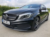 USED 2015 15 MERCEDES-BENZ A CLASS 2.1 A200 CDI AMG NIGHT EDITION 5d 134 BHP