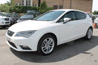 USED 2016 16 SEAT LEON 1.6 TDI SE DYNAMIC TECHNOLOGY 5d 109 BHP JUST ONE OWNER - EXCELLENT SERVICE HISTORY - CHEAP ROAD TAX - GREAT SPEC