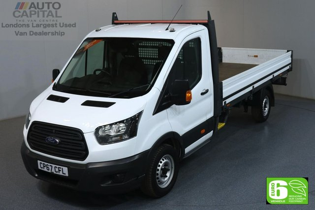 2018 67 FORD TRANSIT 2.0 350 L4 EXTRA LWB 129 BHP EURO 6 ENGINE DROPSIDE MANUFACTURER WARRANTY UNTIL 16/01/2021