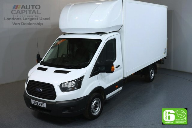 2018 18 FORD TRANSIT 2.0 350 L4 XLWB 129 BHP EURO 6 ENGINE LUTON MANUFACTURE WARRANTY UNTIL 03/05/2021