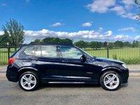 2013 BMW X3 3.0 XDRIVE30D M SPORT 5d AUTO 255 BHP £14995.00