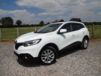 USED 2016 16 RENAULT KADJAR 1.5 DYNAMIQUE NAV DCI 5d 110 BHP DEMO + 1 OWNER FROM NEW WITH FULL RENAULT SERVICE HISTORY