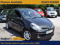 USED 2007 07 RENAULT CLIO 1.4 DYNAMIQUE 16V 3d 98 BHP
