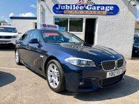 2012 BMW 5 SERIES 2.0 520D M SPORT 4d AUTO 181 BHP £10495.00