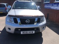 USED 2011 61 NISSAN NAVARA 2.5 DCI TEKNA 4X4 DCB 1d 188 BHP PICK UP