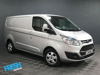 2016 FORD TRANSIT CUSTOM 2.2 290 LIMITED L1H1 £13000.00