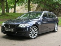 USED 2015 15 BMW 5 SERIES 2.0 520D SE TOURING 5d 188 BHP