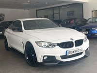 USED 2014 14 BMW 4 SERIES 2.0 420I XDRIVE M SPORT 2d AUTO 181 BHP ++M PERFOR STYLING+XDRIVE++