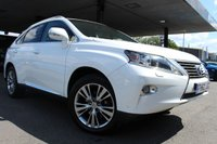 USED 2013 62 LEXUS RX 3.5 450H LUXURY 5d AUTO 295 BHP