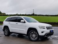 USED 2014 64 JEEP GRAND CHEROKEE 3.0 V6 CRD LIMITED PLUS AUTO 247 BHP FSH, VERY CLEAN EXAMPLE, LOW MILES