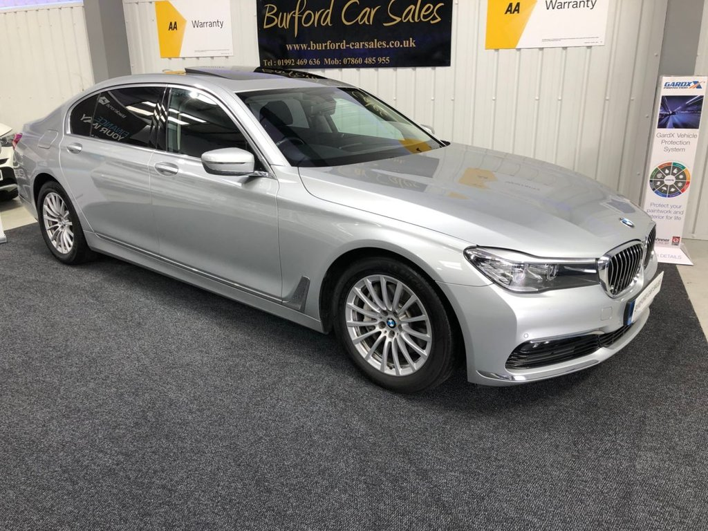 USED 2018 18 BMW 7 SERIES 3.0 730LD 4d AUTO 261 BHP