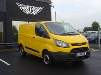 USED 2015 65 FORD TRANSIT CUSTOM 2.2 310 LR P/V 1d 124 BHP MOT AND SERVICE AND WARRANTY INCLUDED