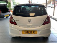 USED 2012 12 VAUXHALL CORSA 1.4 SRI 5d 98 BHP **VERY LOW MILES**