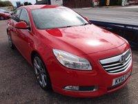 2012 VAUXHALL INSIGNIA 2.0 SRI NAV VX-LINE RED CDTI 5d 157 BHP £4495.00
