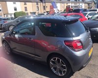 USED 2012 61 CITROEN DS3 1.6 THP ULTRA PRESTIGE 3d 156 BHP 6 Month PREMIUM Cover Warrant - 12 Month MOT (With No Advisories) - Low Rate Finance Packages Available