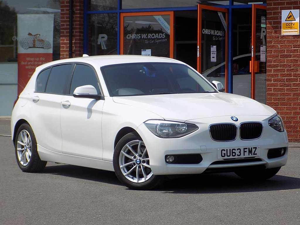 USED 2013 63 BMW 1 SERIES 1.6 116d Efficient Dynamic Business 5dr ** Sat Nav + Leather **