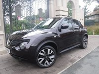USED 2012 62 NISSAN JUKE 1.6 ACENTA SPORT 5d 117 BHP ****FINANCE ARRANGED****PART EXCHANGE WELCOME***SERVICE HISTORY*BTOOTH*CRUISE*2KEYS*DRIVING MODES